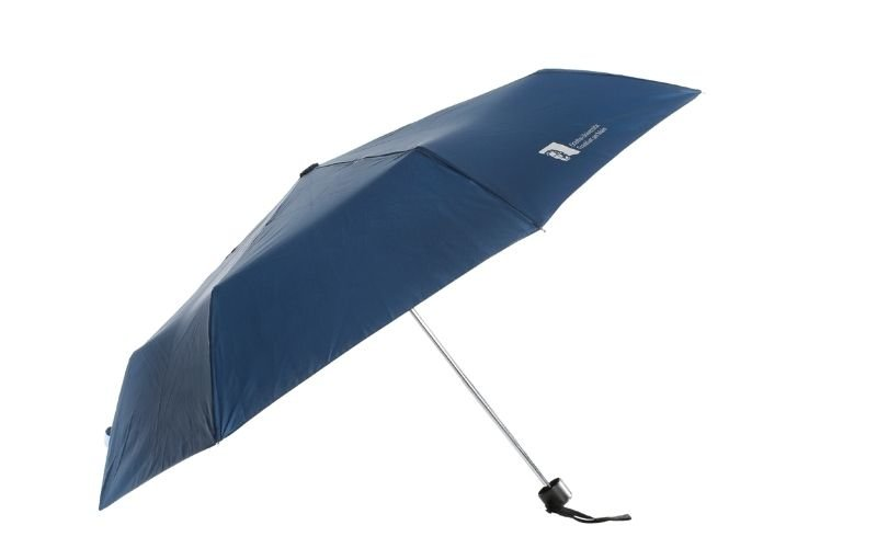 Blue Pocket umbrella of the Goethe University Frankfurt